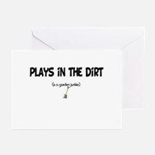 Plays in the Dirt Greeting Cards (Pk of 10)