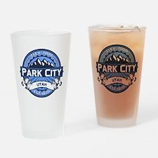 Park City Blue Drinking Glass