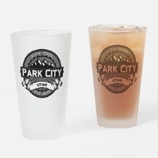 Park City Grey Drinking Glass
