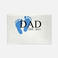 Dad, Est. 2013 Rectangle Magnet