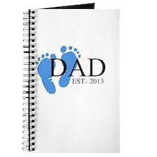 Dad, Est. 2013 Journal