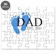 Dad, Est. 2013 Puzzle