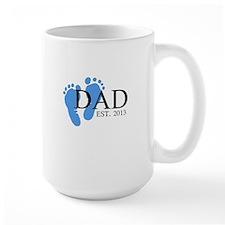 Dad, Est. 2013 Mug