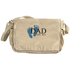 Dad, Est. 2013 Messenger Bag