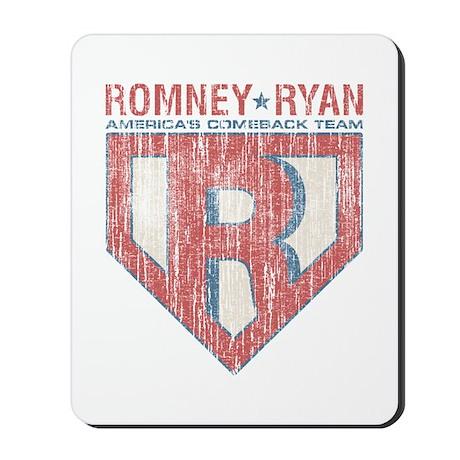 Vintage Romney-Ryan-Republican Mousepad