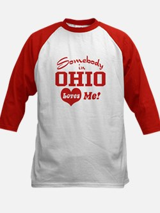 Somebody in Ohio Loves Me Tee