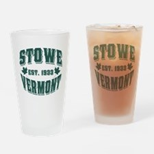 Stowe Vermont Drinking Glass