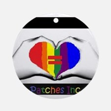 I Support Gay Marriages Ornament (Round)