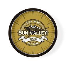 Sun Valley Wheat Wall Clock