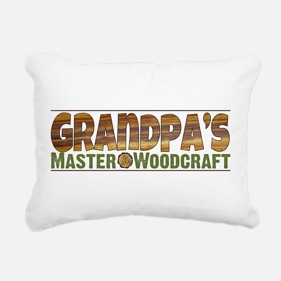Gpa Woodcraft.png Rectangular Canvas Pillow