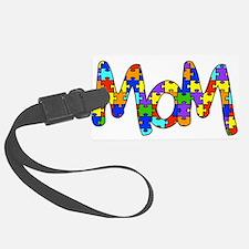 Mom Autism Awareness Luggage Tag