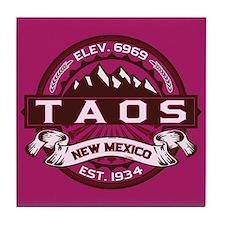 Taos Raspberry Tile Coaster