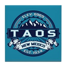 Taos Ice Tile Coaster