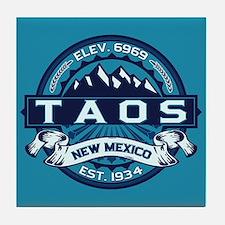 Taos Ice Tile Coaster