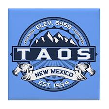 Taos Blue Tile Coaster