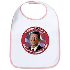 Proud Reagan Republican Bib