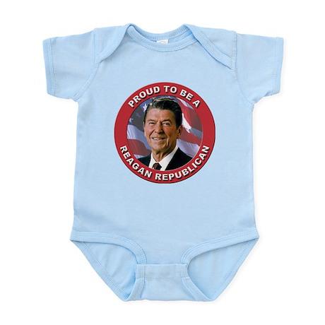 Proud Reagan Republican Infant Bodysuit