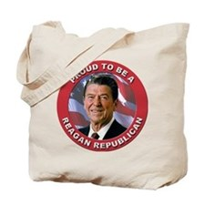 Proud Reagan Republican Tote Bag