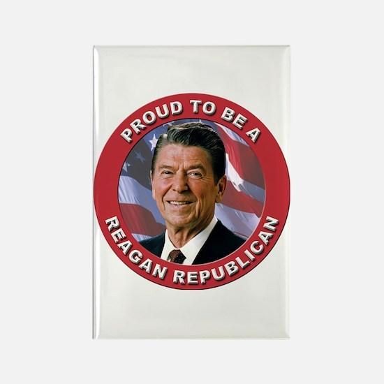 Proud Reagan Republican Rectangle Magnet