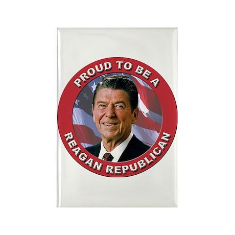 Proud Reagan Republican Rectangle Magnet (10 pack)