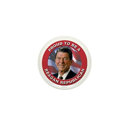 Proud Reagan Republican Mini Button