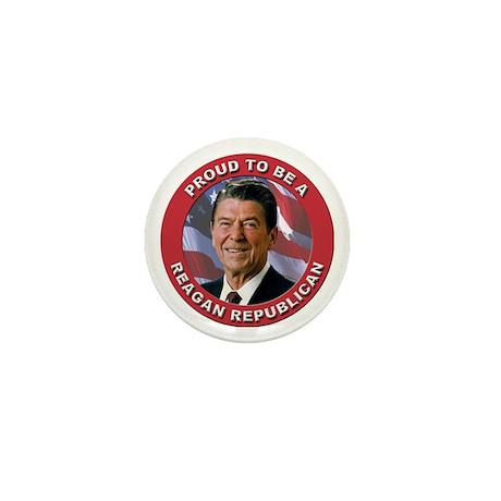 Proud Reagan Republican Mini Button (100 pack)
