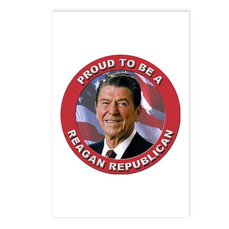 Proud Reagan Republican Postcards (Package of 8)