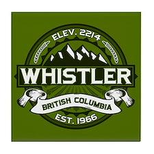 Whistler Olive Tile Coaster