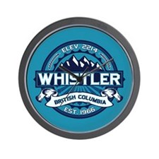 Whistler Ice Wall Clock