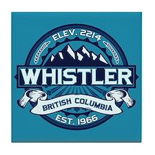 Whistler Ice Tile Coaster