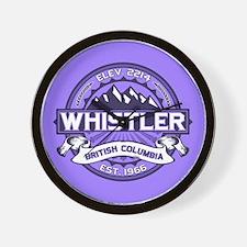 Whistler Violet Wall Clock