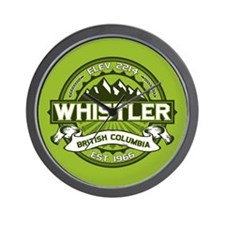 Whistler Green Wall Clock