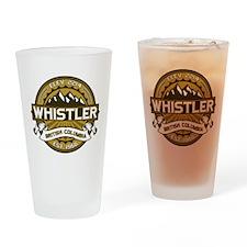 Whistler Tan Drinking Glass