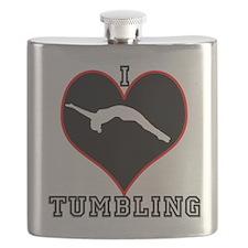 I LOVE TUMBLING Flask