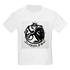 Laughing Monkey Burning Man Logo 2012 T-Shirt