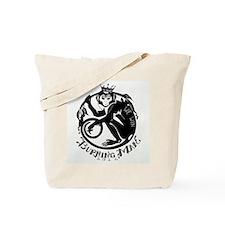 Laughing Monkey Burning Man Logo 2012 Tote Bag