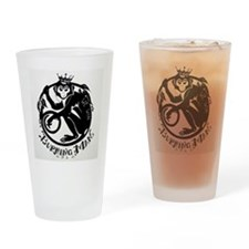 Laughing Monkey Burning Man Logo 2012 Drinking Gla