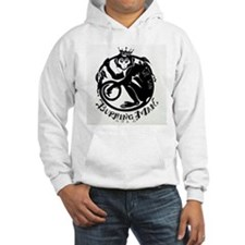 Laughing Monkey Burning Man Logo 2012 Hoodie