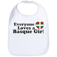Basque Girl Bib