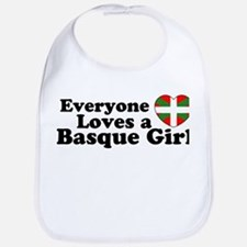 Basque Girl Bib