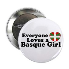 Basque Girl Button