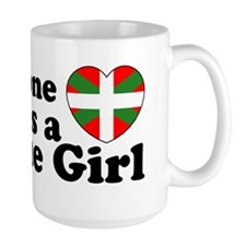 Basque Girl Mug
