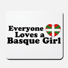 Basque Girl Mousepad
