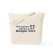 Basque Girl Tote Bag