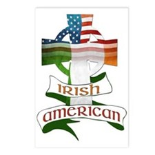 Irish American Celtic Cross Postcards (Package of