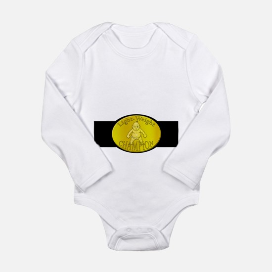 Light-Weight Champion Belt Long Sleeve Infant Body