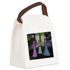 playing dressup.jpg Canvas Lunch Bag
