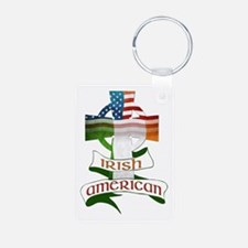 Irish American Celtic Cross Keychains