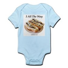 3 All The Way Infant Bodysuit