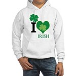OYOOS Irish Heart design Hooded Sweatshirt